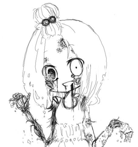 怖かわいい ニコニコ静画 イラスト