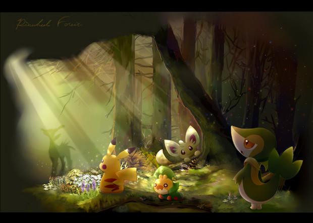 ヤグルマの森 思索の原