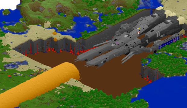 【Minecraft】 ミニマクロス 番外3