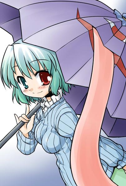 たてセタ小傘の安定角度