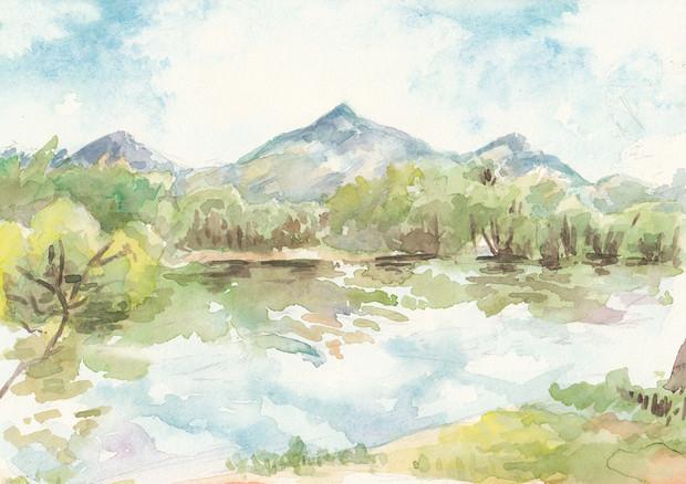 水彩スケッチ風の風景画 のら工房 さんのイラスト ニコニコ静画