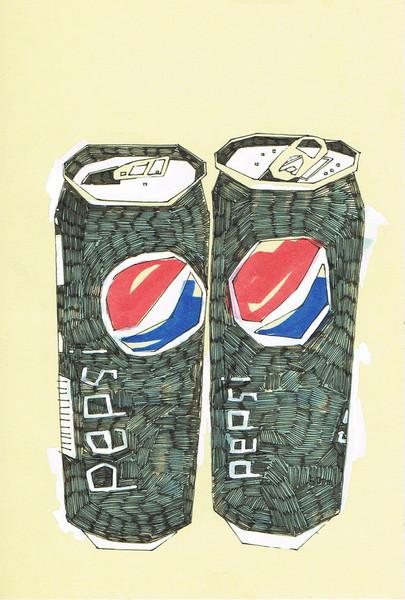 Two Pepsi-Cola