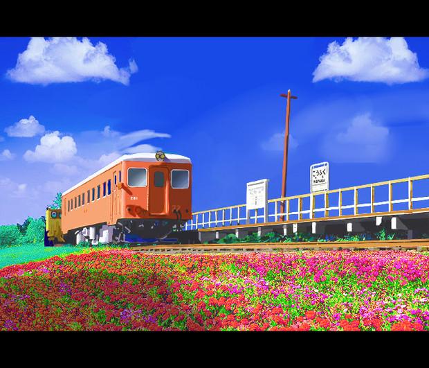 風景画ver2 ニコニコ静画 イラスト