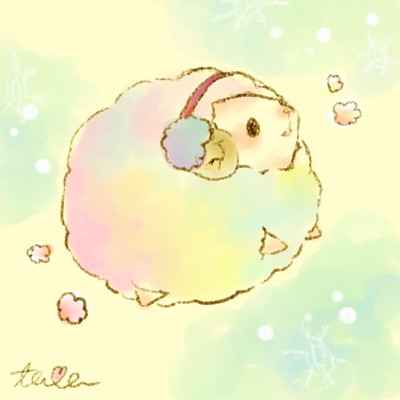 冬:ひつじ