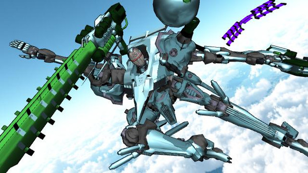 アクアビットマンのMMDモデル配布