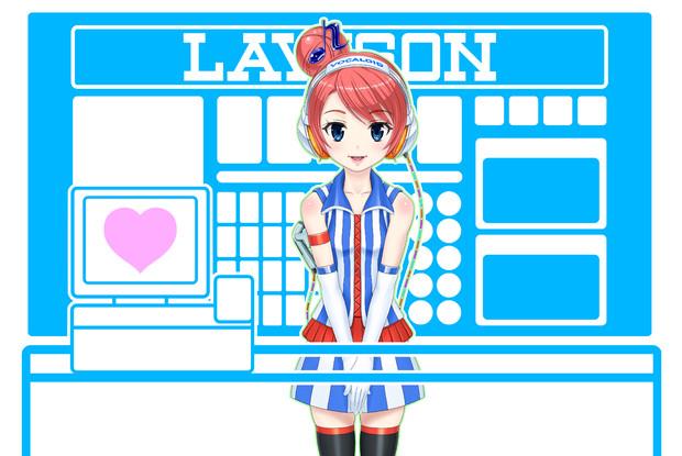 あきこロイドちゃん【シーン1】 レジカット