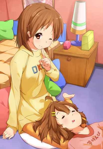 「お姉ちゃん、寝ちゃったみたい」