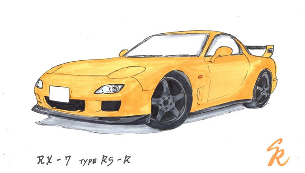 MAZDA FD3S RX-7 typeRS-R