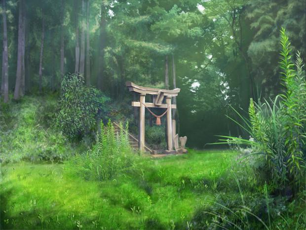 神域への入口