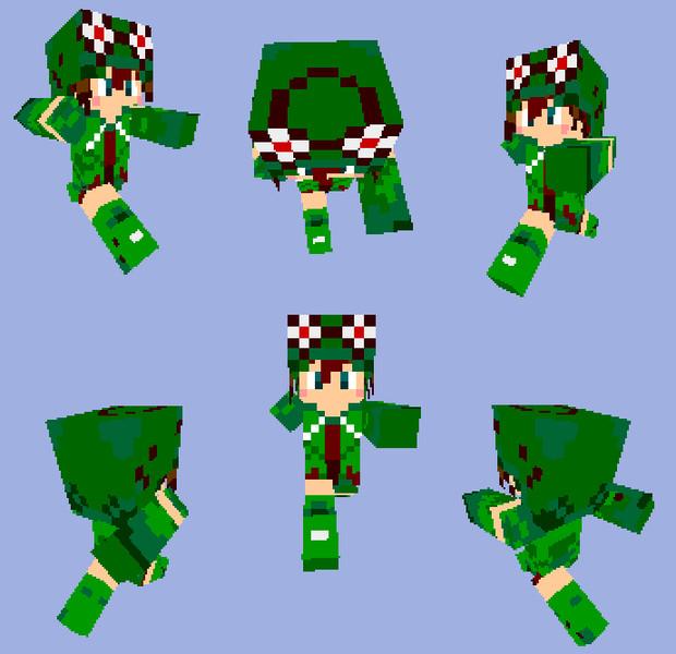 【Minecraft】ノーラパーカー【トリックスター】