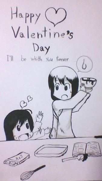 Happy Valentain's Day~I'll be with you forever~