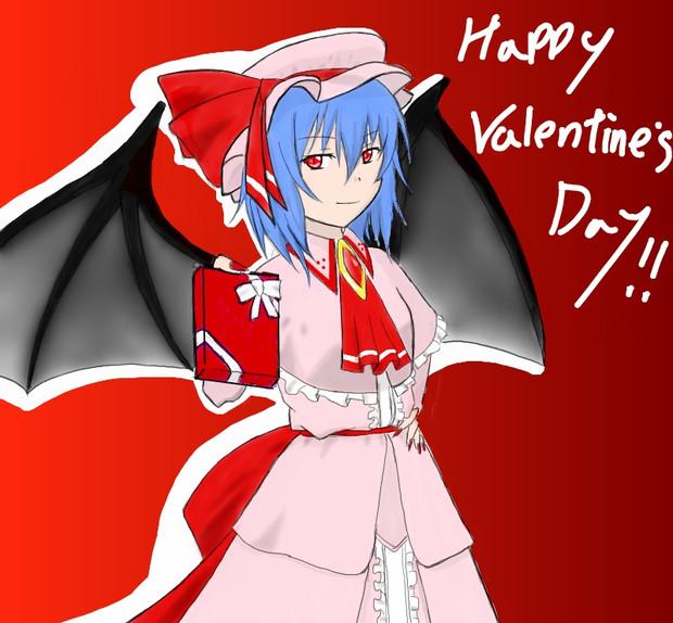 バレンタインですね。