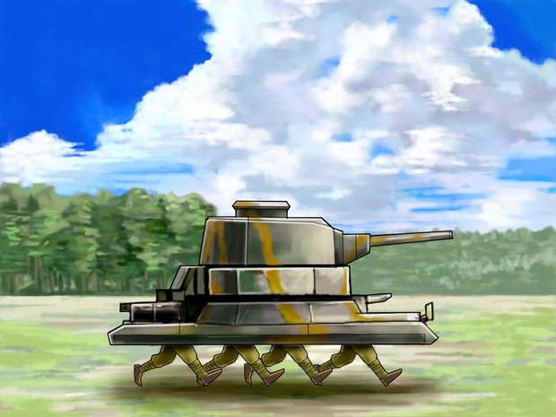 設計班「走破性の高い戦車を設計しました!」 戦車長「!!!!」