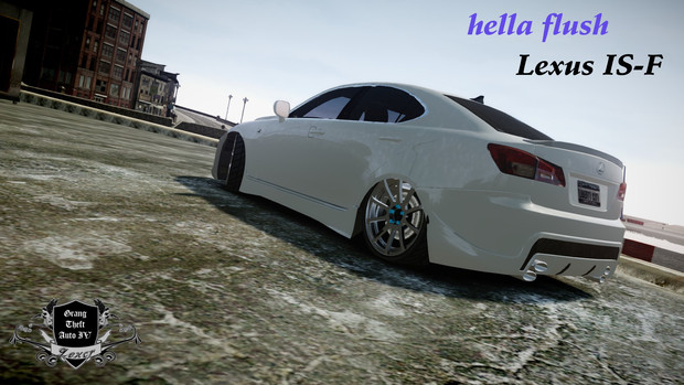 【GTA4】Lexus IS-F hella flush仕様