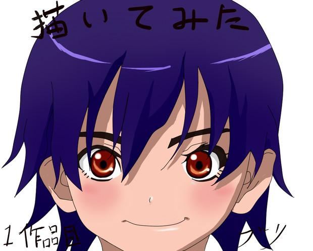 化物語~神原駿河です!【初!描いてみた】