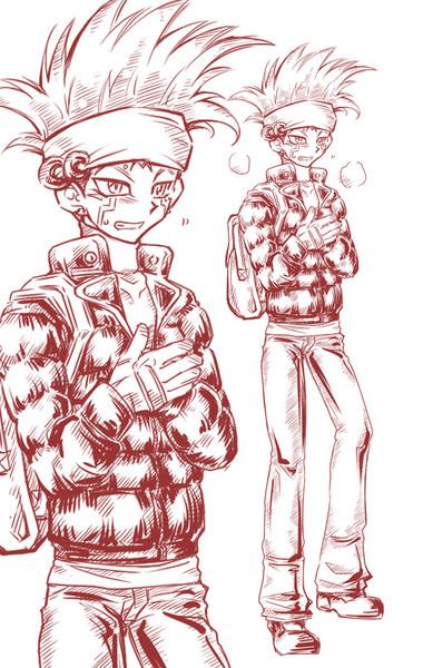 クロウ冬服