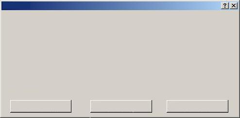 大きめエラーメッセージ画面 横長の3択方式