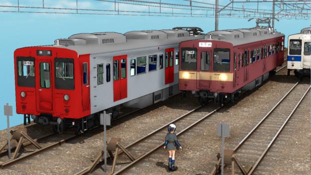 き・・・九州の電車・・・?