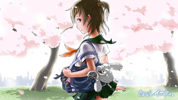 四角くない四度目の桜