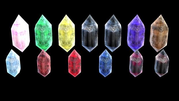 水晶セット配布