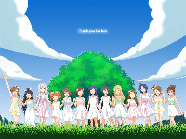 「Thank you for smile.」