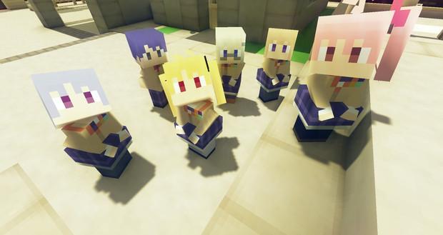 【Minecraft】littleMaidMobでChaos;HEAD/カオスヘッド