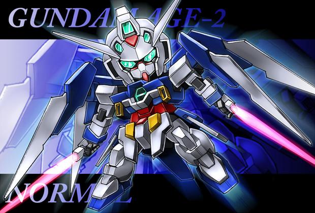 【061】ガンダムAGE-2