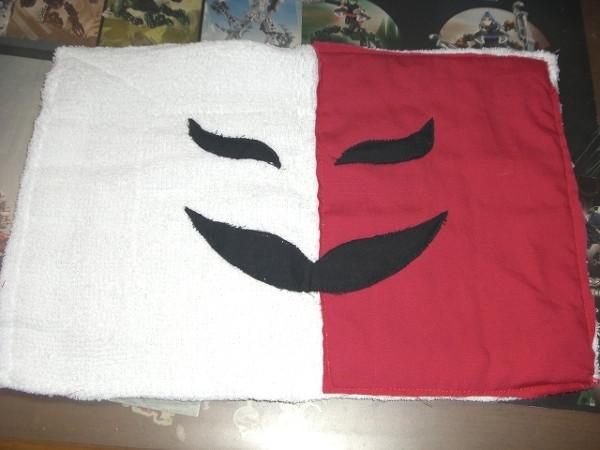 カメーンの雑巾を作ってみた