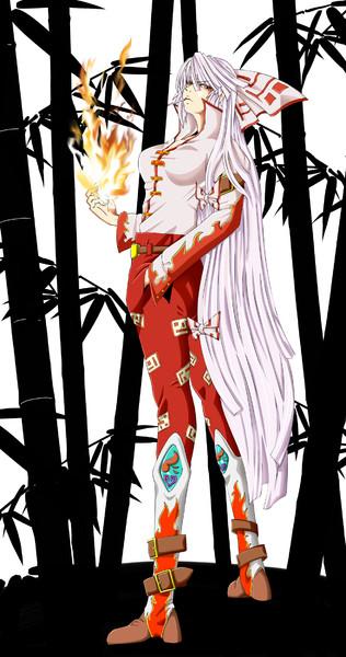 竹林の炎帝