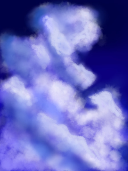 【雲】落書き