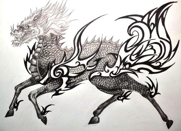 ニコ生にて 麒麟xブラック&グレイ+トライバル