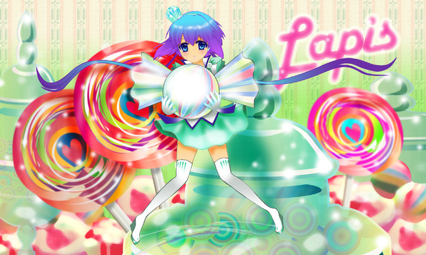 Lapis at the candy shop2