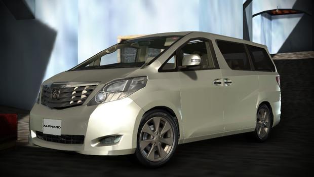 トヨタ・アルファード/ヴェルファイアのモデル配布します