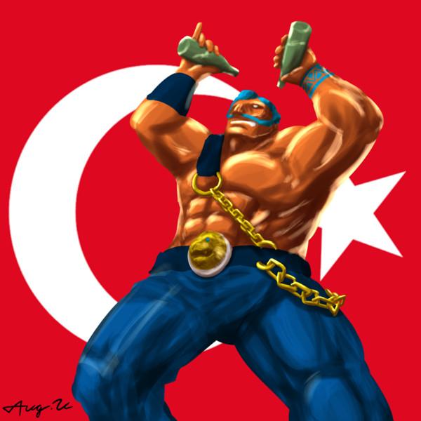 トルコの油親父