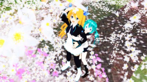 希望の桜風