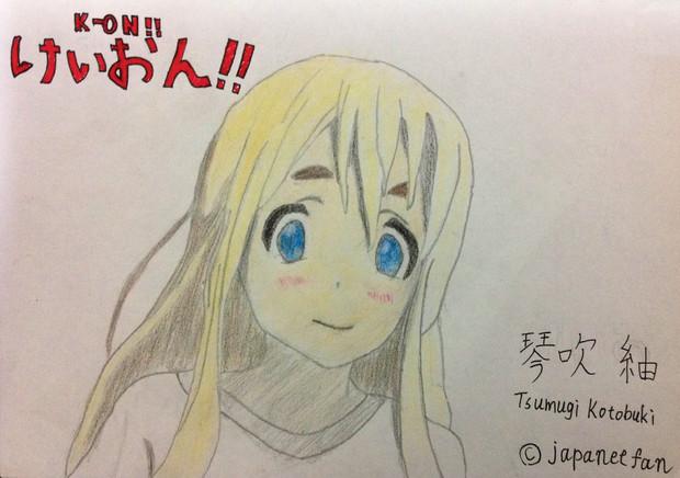 【けいおん!!】むぎちゃんのイラストを描いてみた〜!