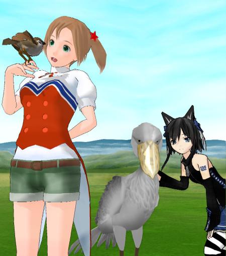 つばめとつばめと鳥さん