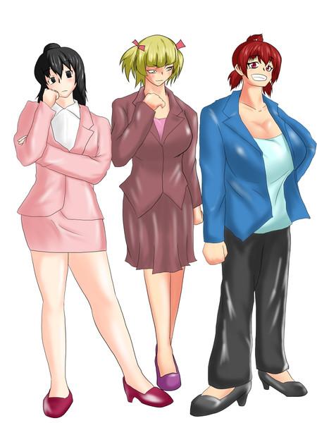 丸井さんちの三姉妹