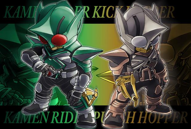 【043】キック&パンチホッパー