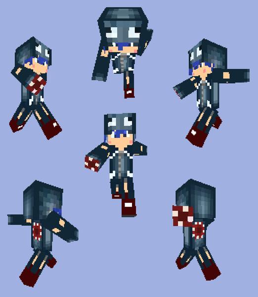 【Minecraft】イカパーカー