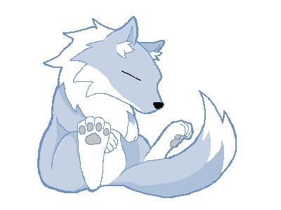 眠そうな狼 ミクロン さんのイラスト ニコニコ静画 イラスト