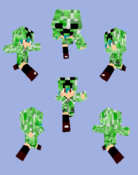 【Minecraft】クリーパーカー