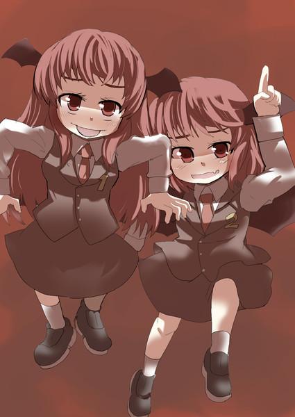 いたずら好きな双子小悪魔
