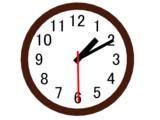 MMDエンジンで動く時計