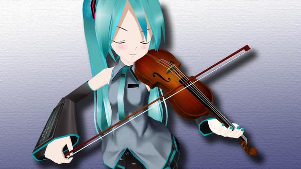 【MMD】バイオリンアクセサリ【OMF2】