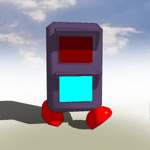 【MMD-OMF2】信号窓付き【ゆめにっき】
