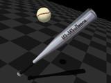 【MMD-OMF2】野球セット