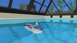 【MMD-OMF2】サバをプールの中に入れたやつは誰だ?【モデル配布】