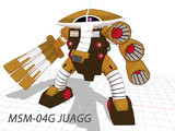 【OMF2配布用モデル】MSM-04G JUAGG