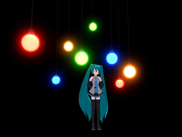 【MMD-OMF2】吊電球手植え必須単品バージョン